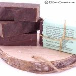 coffee scrub donkey milk soap back