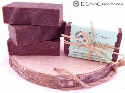 Coffee scrub Donkey milk Soap