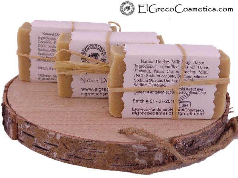 3 pack natural donkey milk soap back
