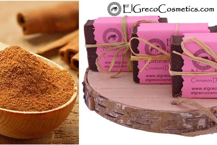 Cinnamon donkey milk soap benefits