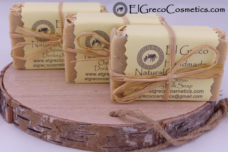 Why Oatmeal scrub donkey milk soap_02