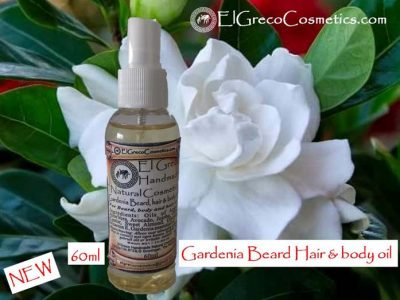 Gardenia Beard Hair & Body oli_01