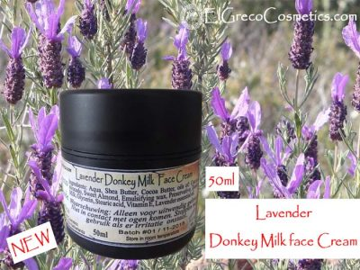 Lavender Donkey milk Face Cream 50ml