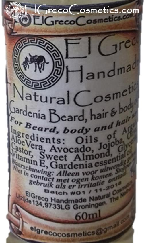 Gardenia Beard Hair & Body oli_03