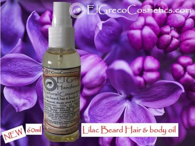 Lilac Beard hair & body Oil 60ml