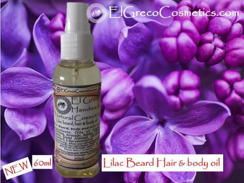 Lilac Beard Hair & Body oli_01