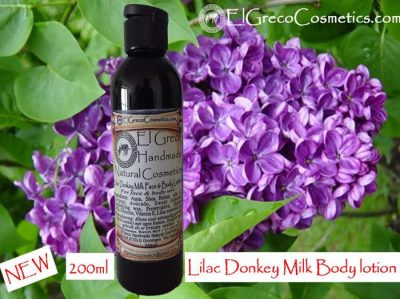 Lilac Donkey milk Face & body lotion 200ml