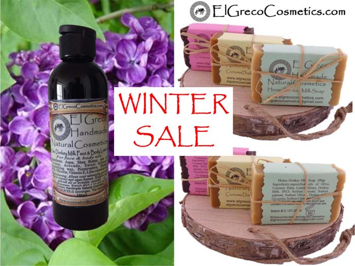 Winter sale combi facial and body care