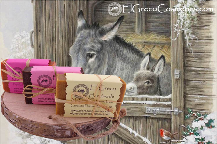 Natural beauty donkey milk soap