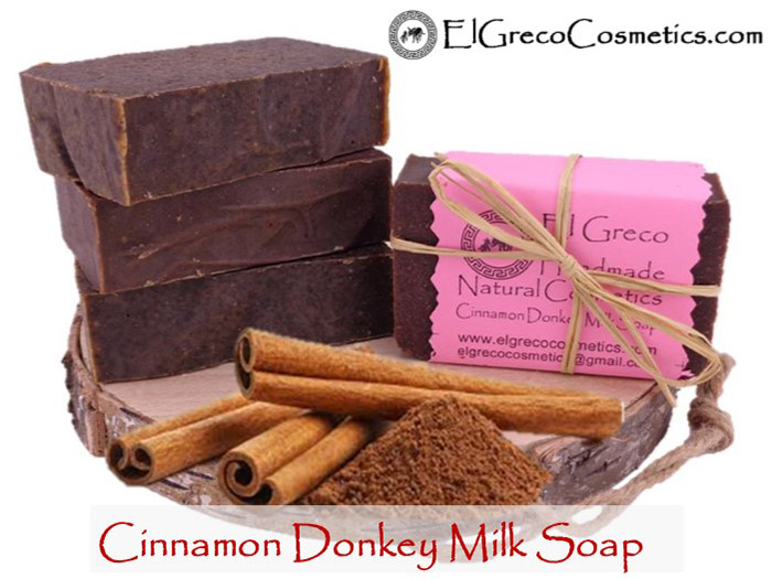 cinnamon Donkey Milk Soap_03